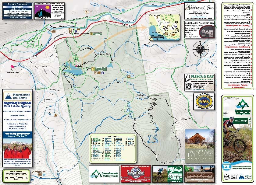 Trail Maps Carrabassett Nemba